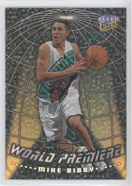1998-99 Fleer Ultra World Premiere #15WP - Mike Bibby