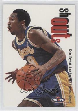 1998-99 NBA Hoops Shoutouts #21SO - Kobe Bryant