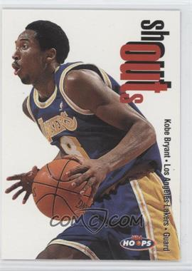 1998-99 NBA Hoops Shoutouts #21SO - Kobe Bryant