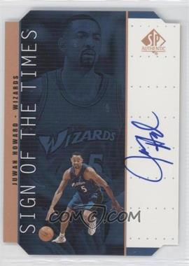1998-99 SP Authentic Sign of the Times Bronze [Autographed] #HW - Juwan Howard