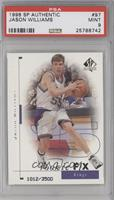 Jason Williams /3500 [PSA 9]