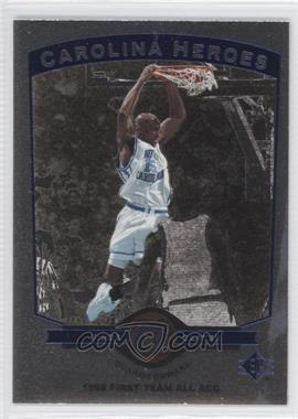 1998-99 SP Top Prospects Carolina Heroes #H8 - Vince Carter