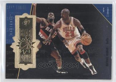 1998-99 SPx Finite - [Base] - Radiance #100 - Michael Jordan /2700