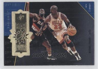 1998-99 SPx Finite Radiance #100 - Michael Jordan /2700