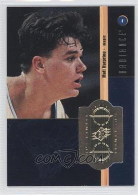 1998-99 SPx Finite Radiance #225 - Matt Harpring /1500