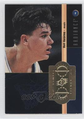 1998-99 SPx Finite Radiance #225 - Matt Harpring /1500