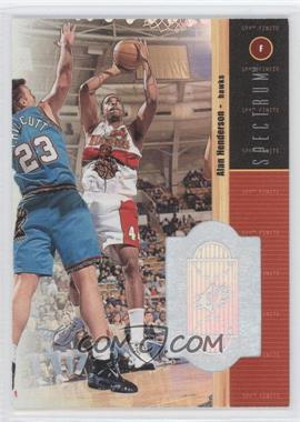 1998-99 SPx Finite Spectrum #16 - Alan Henderson /350