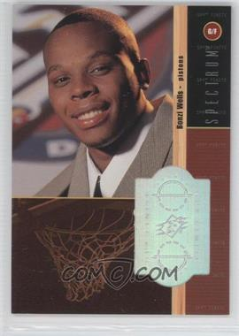 1998-99 SPx Finite Spectrum #221 - Bonzi Wells /25