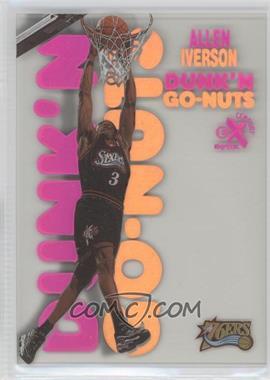 1998-99 Skybox E-X Century - Dunk'N Go-Nuts #5 DG - Allen Iverson