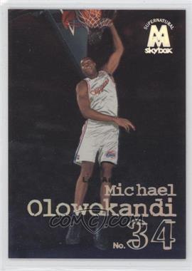1998-99 Skybox Molten Metal - [Base] #144 - Michael Olowokandi
