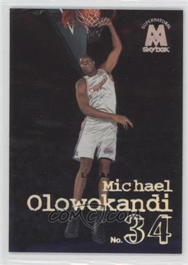 1998-99 Skybox Molten Metal #144 - Michael Olowokandi