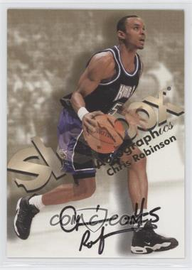 1998-99 Skybox Premium Autographics [Autographed] #CHRO - Chris Robinson