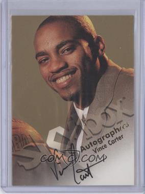 1998-99 Skybox Premium Autographics [Autographed] #VICA - Vince Carter