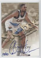 Cedric Henderson /50