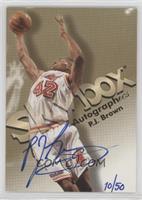 P.J. Brown /50