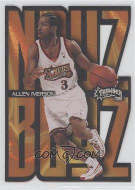 1998-99 Skybox Thunder Noyz Boyz #8NB - Allen Iverson