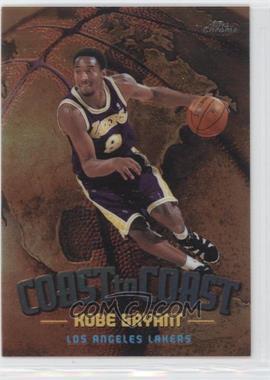 1998-99 Topps Chrome - Coast to Coast #CC1 - Kobe Bryant
