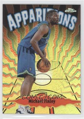 1998-99 Topps Chrome Apparitions Refractor #A10 - Michael Finley /100