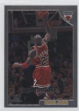 1998-99 Topps Chrome Preview #77 - Michael Jordan