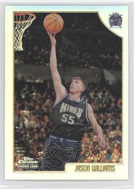 1998-99 Topps Chrome Refractor #153 - Jason Williams