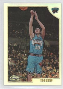 1998-99 Topps Chrome Refractor #196 - Mike Bibby