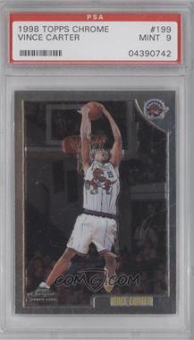 1998-99 Topps Chrome #199 - Vince Carter [PSA9]