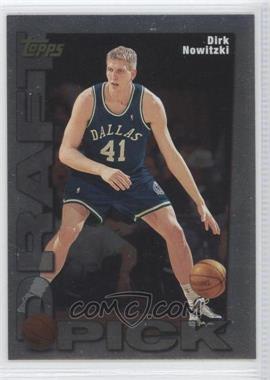 1998-99 Topps Draft Pick #9 - Dirk Nowitzki