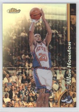 1998-99 Topps Finest - [Base] - Refractor No-Protector #31 - Allan Houston