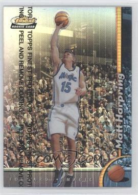 1998-99 Topps Finest - [Base] - Refractor #240 - Matt Harpring
