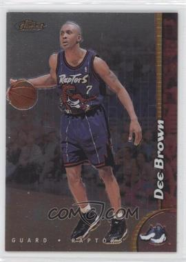 1998-99 Topps Finest No-Protector #153 - Dee Brown