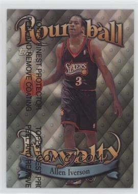 1998-99 Topps Roundball Royalty Refractor #R4 - Allen Iverson