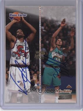 1998-99 Topps Stadium Club Co-Signers [Autographed] #CO20 - Mike Bibby, Vince Carter