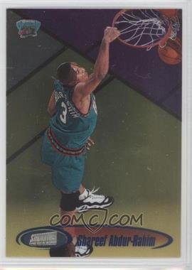 1998-99 Topps Stadium Club One of a Kind #91 - Shareef Abdur-Rahim /150