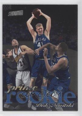 1998-99 Topps Stadium Club Prime Rookie #P9 - Dirk Nowitzki