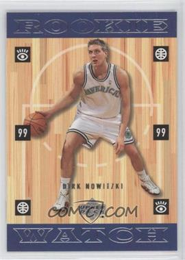 1998-99 Upper Deck - [Base] #320 - Dirk Nowitzki