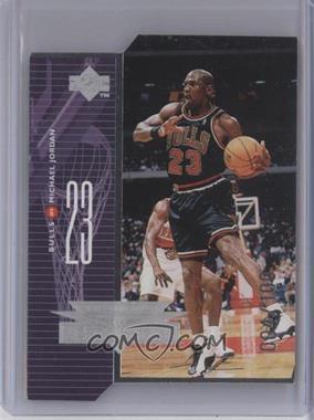 1998-99 Upper Deck AeroDynamics Silver Quantum Die-Cut #A1 - Michael Jordan /100