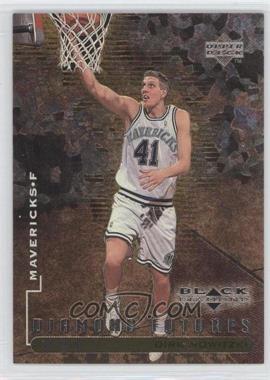 1998-99 Upper Deck Black Diamond Triple Diamond #92 - Dirk Nowitzki /1000