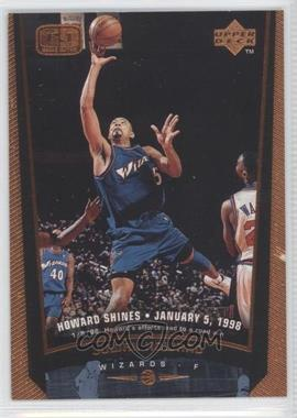 1998-99 Upper Deck Bronze #160 - Juwan Howard /100