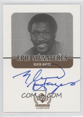 1998-99 Upper Deck Century Legends Epic Signatures #EH - Elvin Hayes