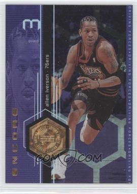 1998-99 Upper Deck Encore - Driving Forces - F/X #F14 - Allen Iverson /500
