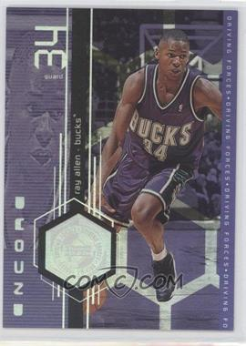 1998-99 Upper Deck Encore - Driving Forces #F15 - Ray Allen
