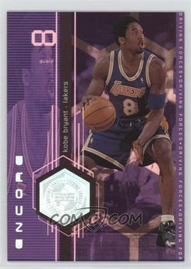 1998-99 Upper Deck Encore - Driving Forces #F2 - Kobe Bryant