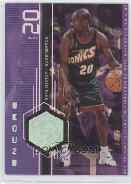 1998-99 Upper Deck Encore - Driving Forces #F6 - Gary Payton