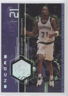 1998-99 Upper Deck Encore Driving Forces #F4 - Kevin Garnett