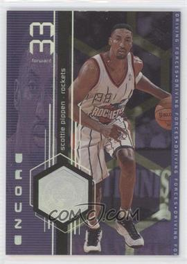 1998-99 Upper Deck Encore Driving Forces #F9 - Scottie Pippen