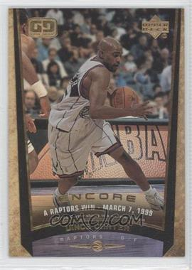 1998-99 Upper Deck Encore F/X #146 - Vince Carter /125