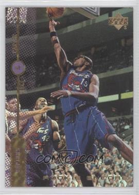 1998-99 Upper Deck Encore Rookie Encore F/X #RE10 - Vince Carter /1000