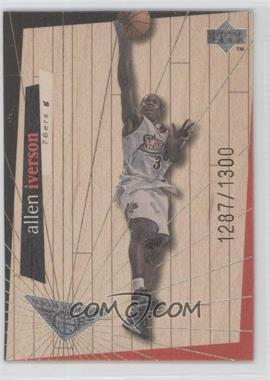 1998-99 Upper Deck Hardcourt High Court #H20 - Allen Iverson /1300