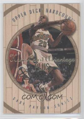 1998-99 Upper Deck Hardcourt Home Court Advantage Plus #43 - Gary Payton /500