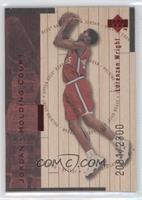Lorenzen Wright, Michael Jordan /2300